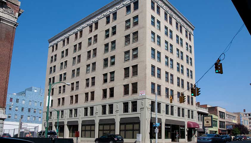 Crosby building buffalo