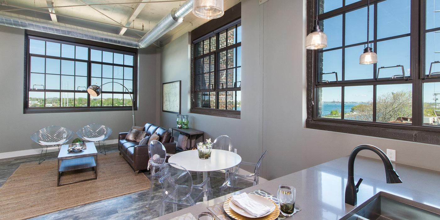 Living Room at 960 Busti