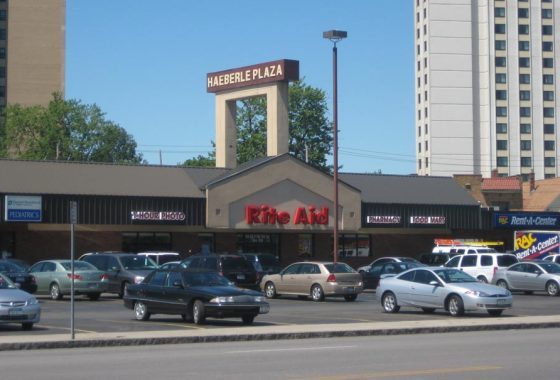 Haeberle Plaza, retail rental space buffalo ny