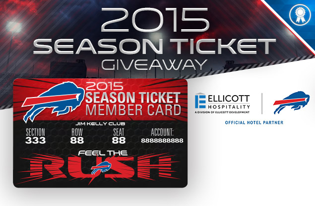 Bill Season Ticket giveaway