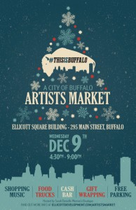 Artists Market Buffalo Dec 9