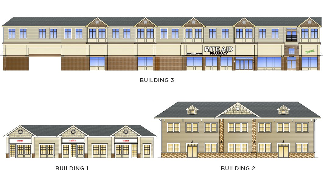 Center & 8th St Lewiston Retail and Apartments rendering