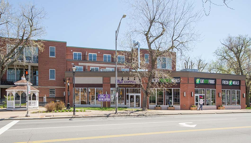 1 Delaware Retail space and apartments