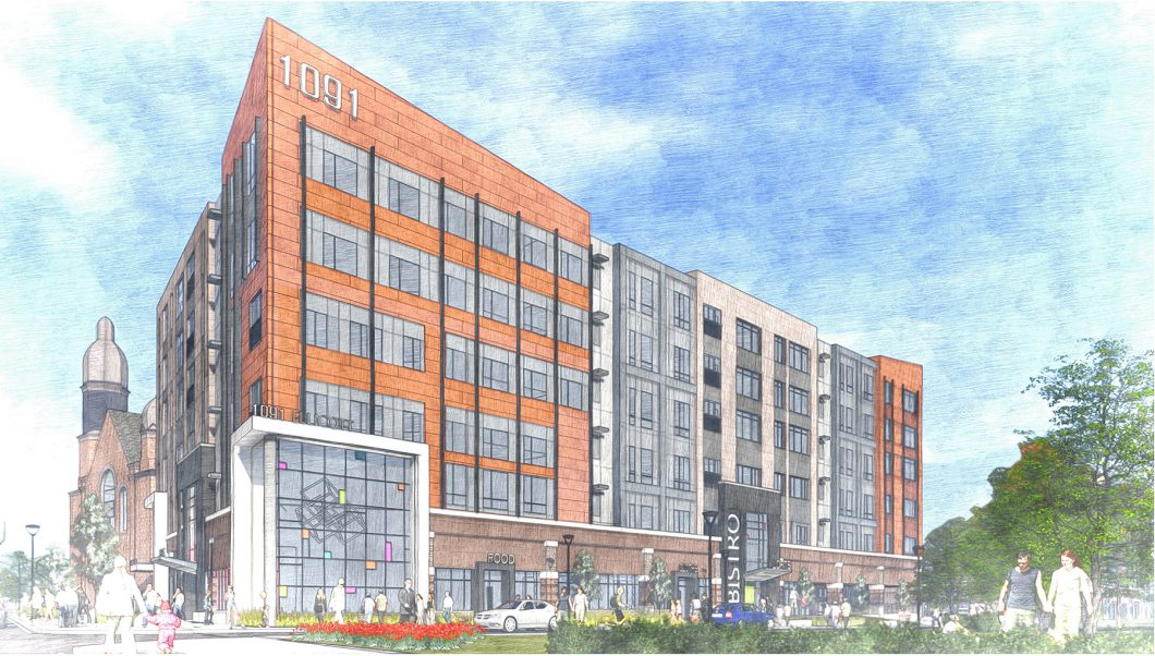 1091 Main Street Building Rendering