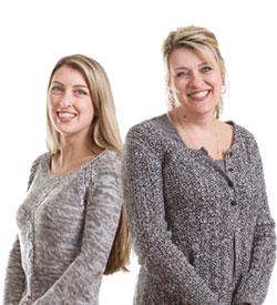 Bonnie and Ariahana Scirri