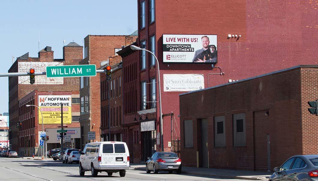 173 Elm Street Buffalo NY Billboard Space