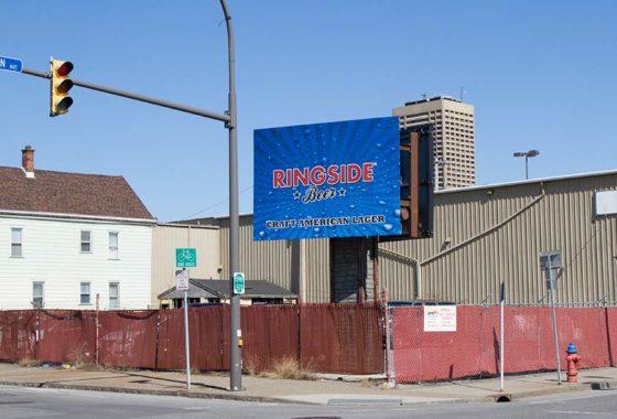 Southpark and Michigan Billboard, Buffalo NY