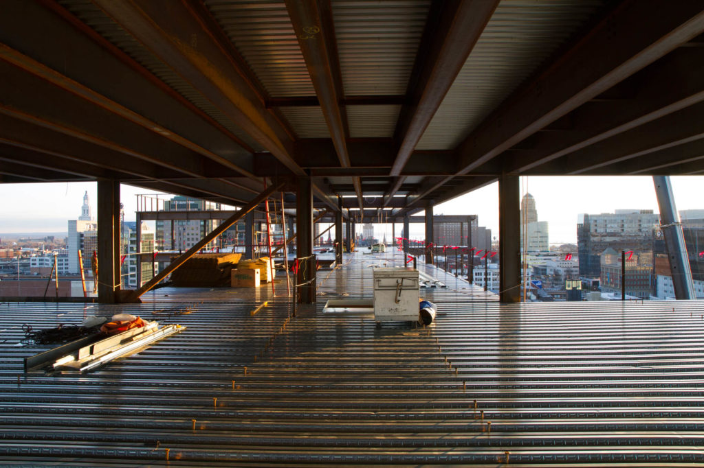 Construction Photo of 500 Pearl