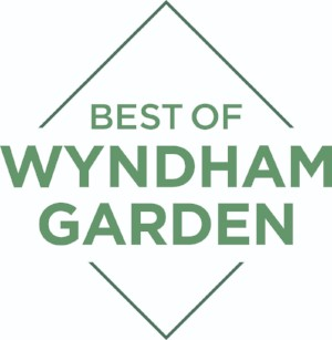 Best Wyndham Hotel Badge