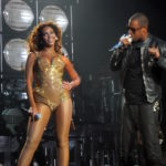 Jay-Z and Beyonce singing together