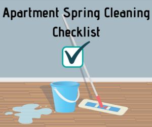 Apartment Spring Cleaning Guide