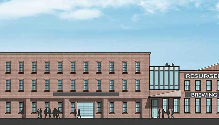 Rendering of The Cooperage
