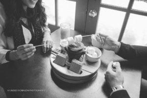 Taste Coffee Shop tabletop s'mores dessert
