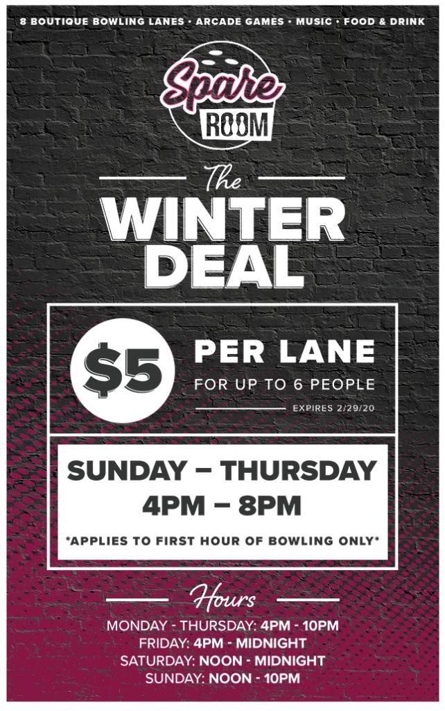 Winter Bowling Deal