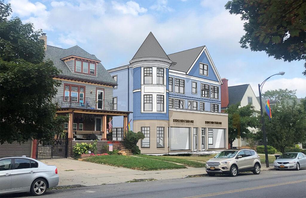 878-880 Elmwood Ave Rendering